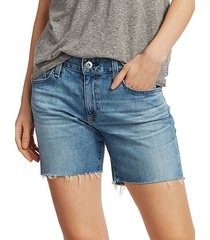 becke slim denim shorts