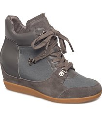 emmy hike shoes high-top sneakers grå shoe the bear