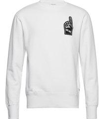 hugh sweatshirt sweat-shirt trui wit wood wood