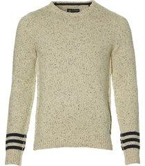 dstrezzed pullover - slim fit - ecru