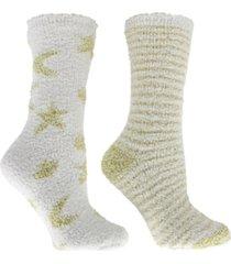 minxny women's non-skid warm soft and fuzzy aroma sole slipper socks, 5 piece
