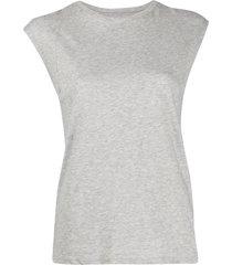 frame mid rise t-shirt - grey