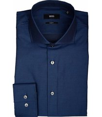 hugo boss overhemd jason donkerblauw 50413812/420