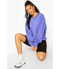 basic oversized sweatshirt, light blue