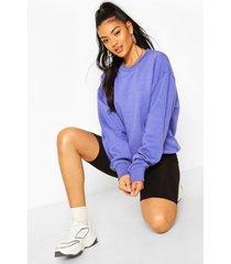 basic oversized sweatshirt, light blue