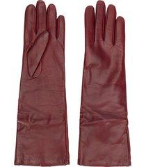 p.a.r.o.s.h. full gloves - red