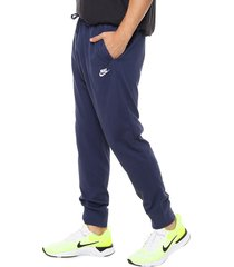 pantalón azul nike club jggr jsy