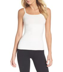 women's spanx in & out camisole, size large - white