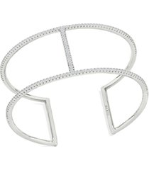 zaxie ritzy business pave cuff bracelet