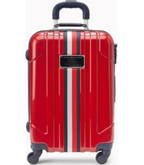 """tommy hilfiger women's 21"""" spinner suitcase red -"""