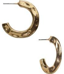 patricia nash hammered hoops earrings