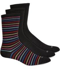 hue women's 3 pack super soft crew socks