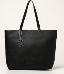 armani collezioni armani exchange tote bags armani exchange crossbody bag in textured synthetic leather