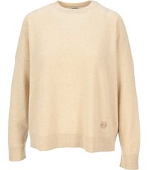 loewe oversize sweater in cashmere