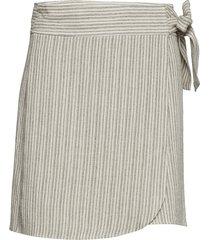 toma skirt kort kjol creme iben