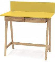 biurko jesionowe luka 85x50cm z szufladą