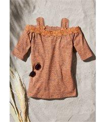 maglia con cut-out (arancione) - john baner jeanswear