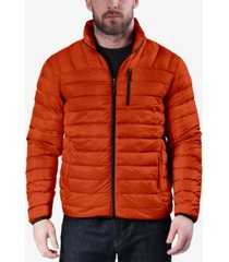 hawke & co. outfitter men's packable down blend puffer jacket, created for macy's