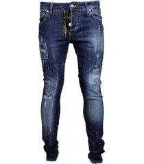 my brand jack zipper jeans blue