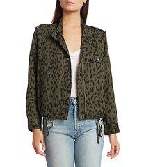 collins leopard-print jacket