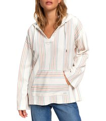 women's roxy call of the ocean hooded pullover