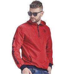 chaqueta adulto masculino rojo marketing  personal