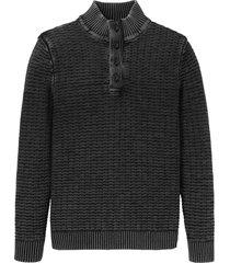 maglione con bottoni (grigio) - john baner jeanswear