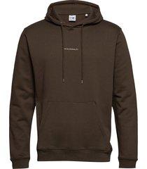 barrow printed hoodie 3385 hoodie trui bruin nn07