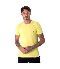 camiseta operarock t-shirt amarela