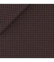giacca da uomo su misura, drago, marrone pied de poule, autunno inverno