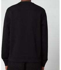 kenzo men's gradient tiger classic sweatshirt - black - xl
