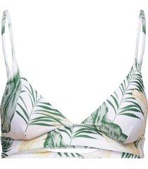coastal palms longline tr bikinitop vit rip curl
