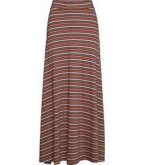 joelle skirt lång kjol brun lexington clothing