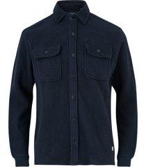 fleeceskjorta jprjames blu sweat shirt jacket