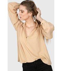 camisa camel nano valentina 0320