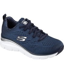 zapatilla fashion fit - statement pi azul marino skechers
