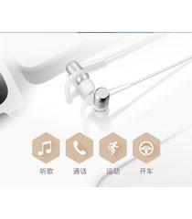 audifonos, m2 smart magnetic power auriculares inalámbricos deportivos anti-sudor de metal earbuds en los auriculares (blanco)