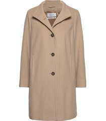 coat not wool wollen jas lange jas beige gerry weber edition