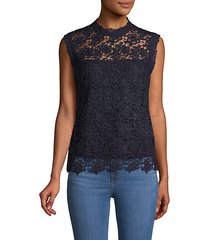 lace shell top