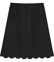 a-lijn rok zwart
