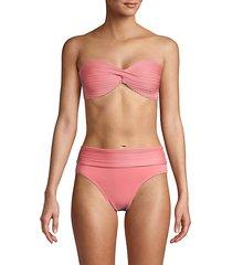 twist-front bikini top