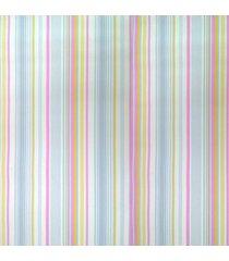 kit 2 rolos de papel de parede fort line listras azul amarelo e rosa