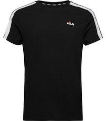 men thanos tee t-shirts short-sleeved svart fila