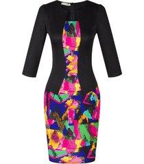 autumn dress vintage female zipper office 2017 vestidos de festa pencil women