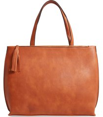 sole society faux leather tote -
