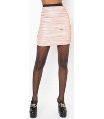 akira sugar and spice glitter mini skirt