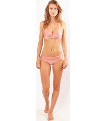 barts bikinitop women isla bandeau dusty pink-