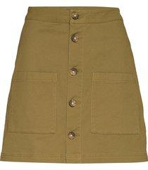 tjw carpenter skirt kort kjol grön tommy jeans