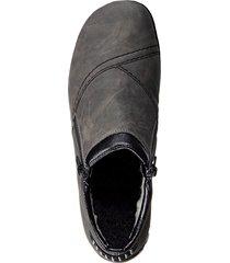 rieker-skor med dubbla dragkedjor rieker grå