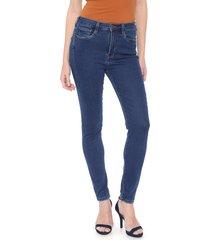 calça jeans carmim jegging mianmar azul